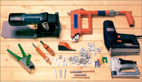 Все необходимые принадлежности и инструменты