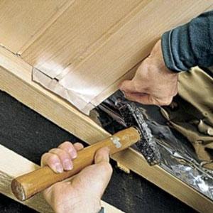 Как крепить вагонку к потолку и получить желаемый результат