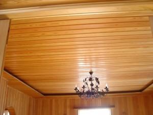 Рейки на потолке занимают свою нишу