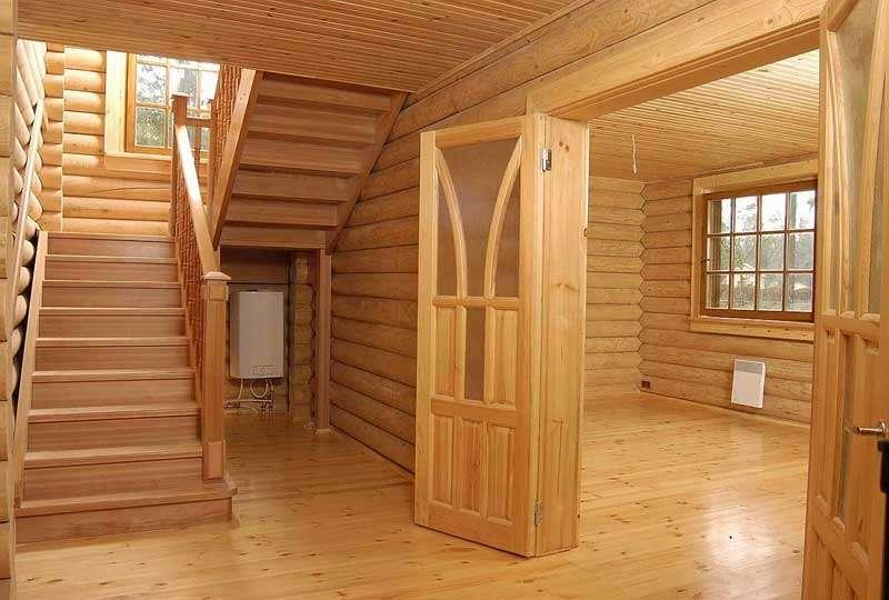 Обшивка деревянного дома вагонкой внутри создаёт комфорт
