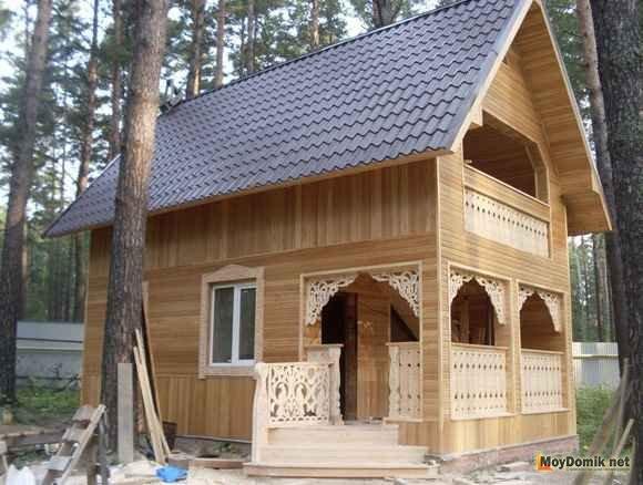Комбинированная обшивка дома