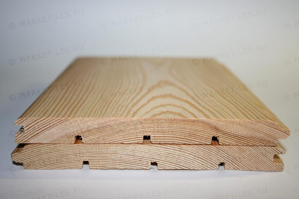 Вагонка штиль из лиственницы. Панель со специальными прорезями, для исключения деформации