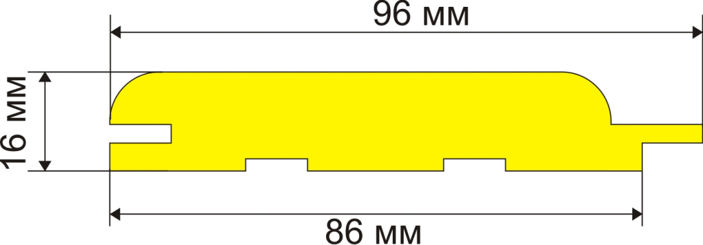 Чертёж панели и её монтажные размеры, которые помогут при самостоятельной установке панелей без соответствующего опыта