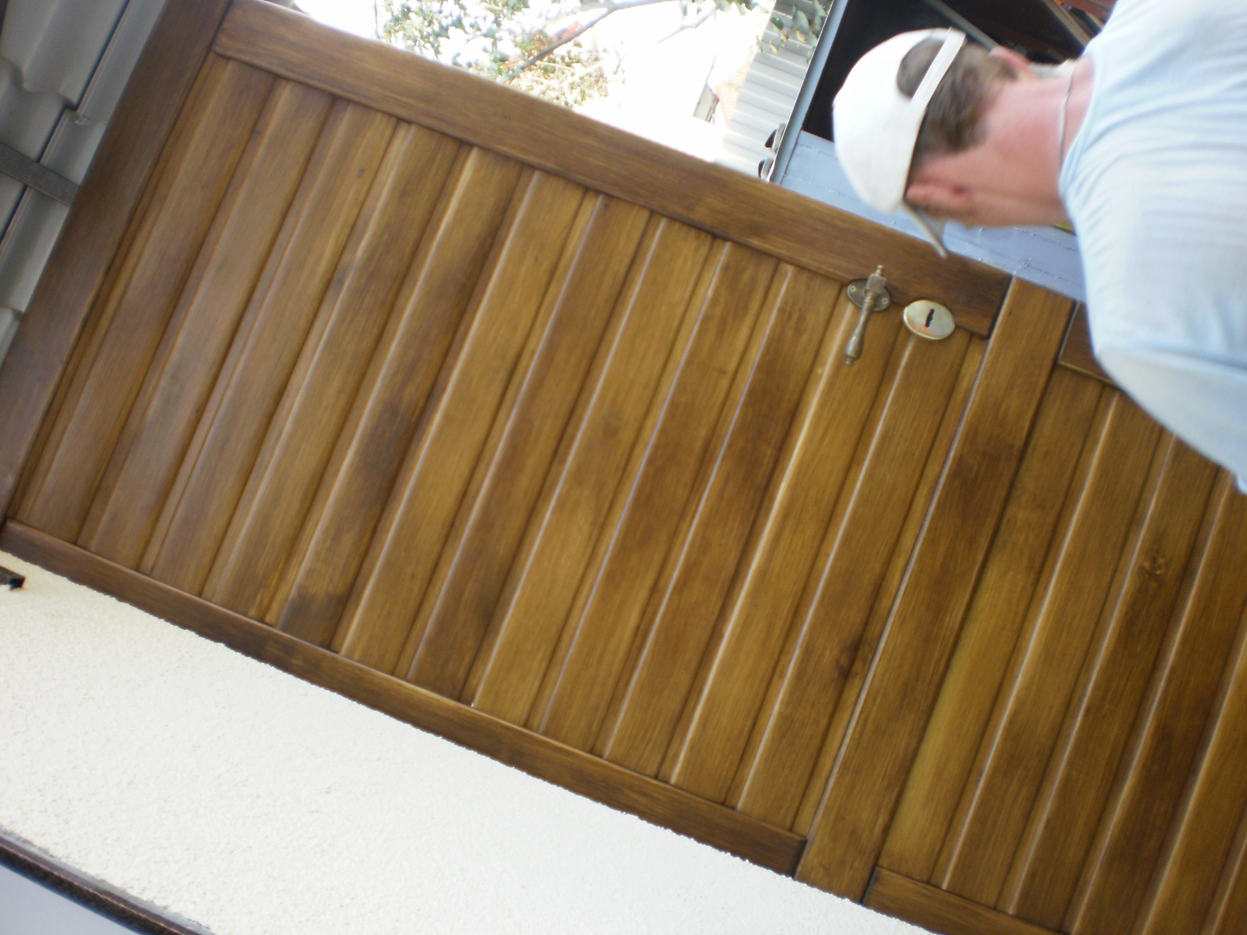Обшивка двери вагонкой своими руками: фото и видео