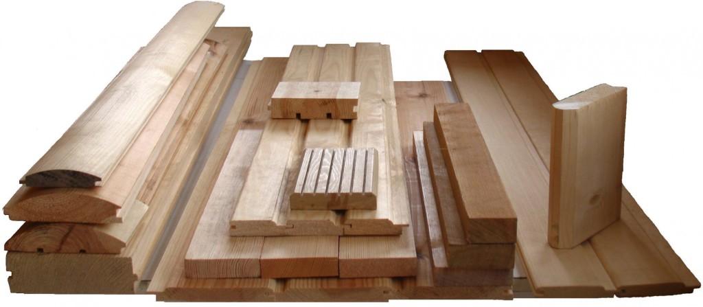 Огромный ассортимент деревянных изделий, среди которых, блок хаус, вагонка, брусок и много другое