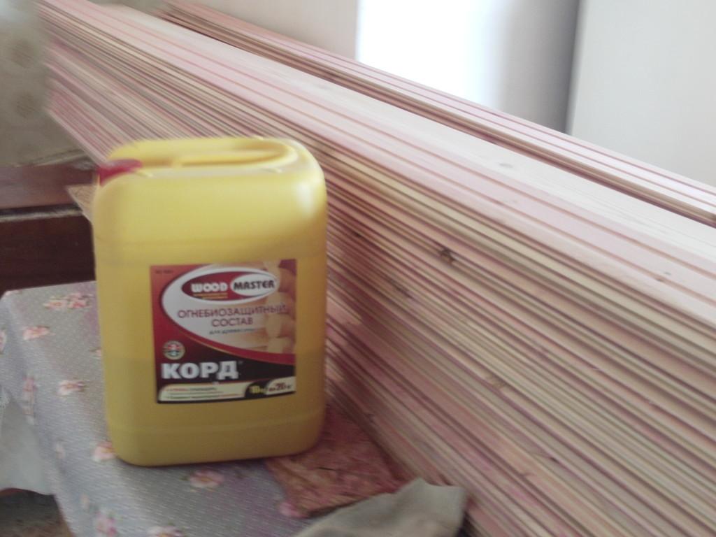 Защитная пропитка для деревянных изделий