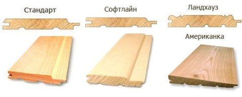 Виды деревянной вагонки и их применение.