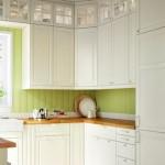 Яркий интерьер кухонной зоны
