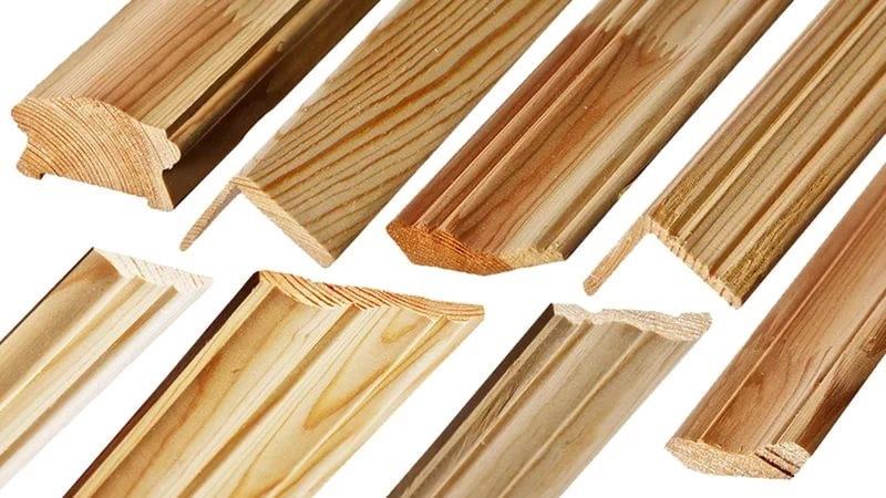 Деревянные уголки и накладки для вагонки
