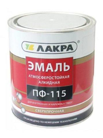 Алкидная эмаль ПФ-115