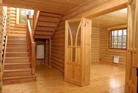 «Блок – хаус» для внутренней отделки