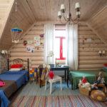 Деревенский стиль в оформлении детской комнаты