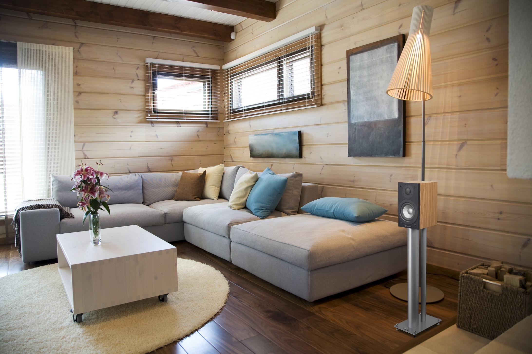 Дизайн обоев в деревянном доме