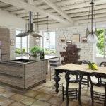 Кухня в стиле «Рустик»