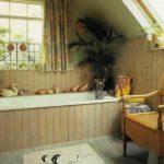Стиль «Кантри» в оформлении ванной