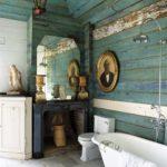 Стиль «Винтаж» в оформлении ванной комнаты
