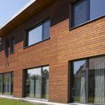 Термовысушенная древесина в облицовке фасада