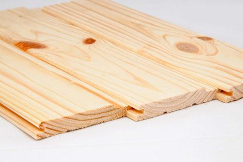 Деревянная вагонка – это натуральный материал