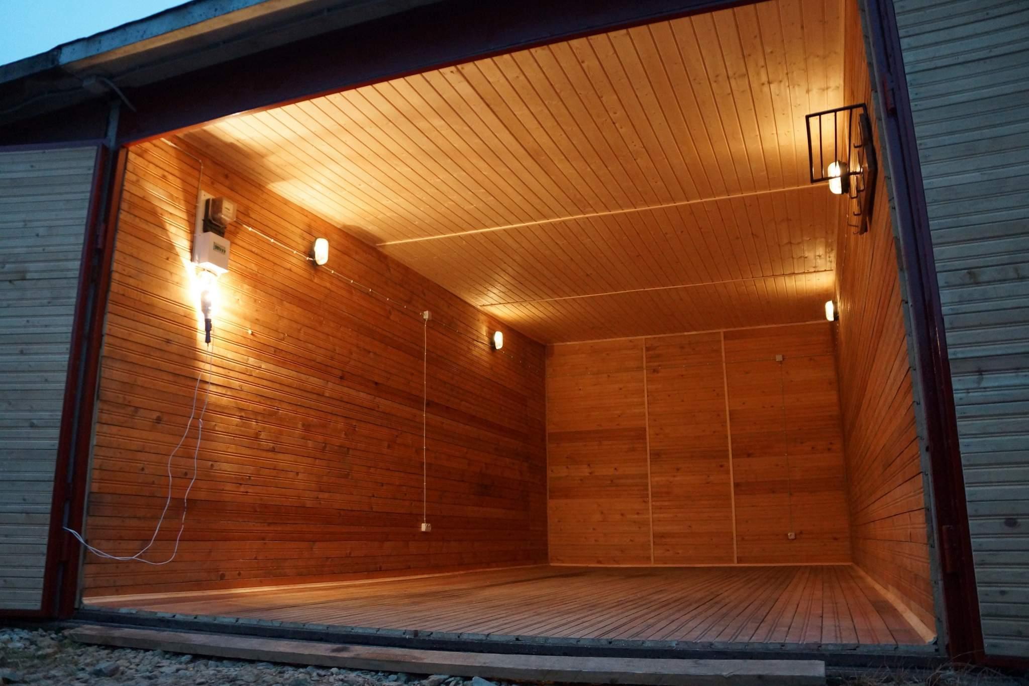 Отделка гаража внутри драйв 2