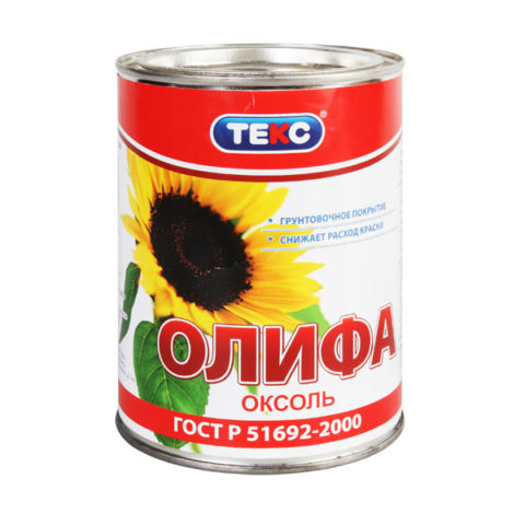 Олифа фирмы «Текс»