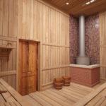 Доска из древесины хвойных пород может быть использована и для бани, после сушки и обработки пропитками