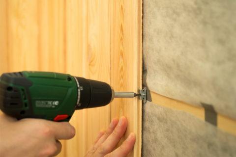 Как облегчить себе задачу, обшивая стены и потолок вагонкой