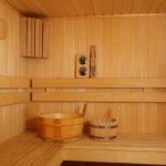 Убранство современной бани