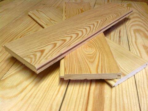 Вагонка лиственничная – идеальное решение для мест с повышенной влажностью