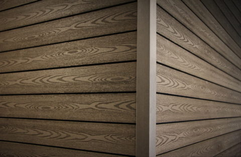 ДПК прекрасно имитирует древесную текстуру