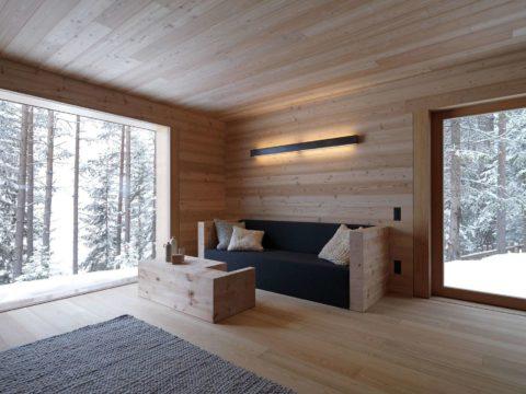 За окном мороз и снег, а внутри тепло