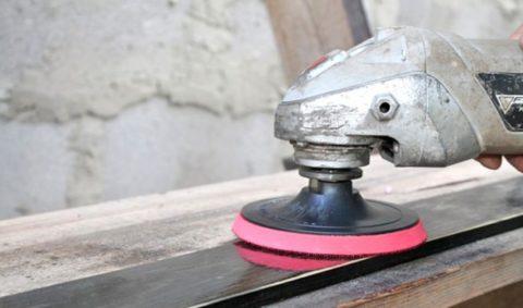 Полировка деревянной поверхности